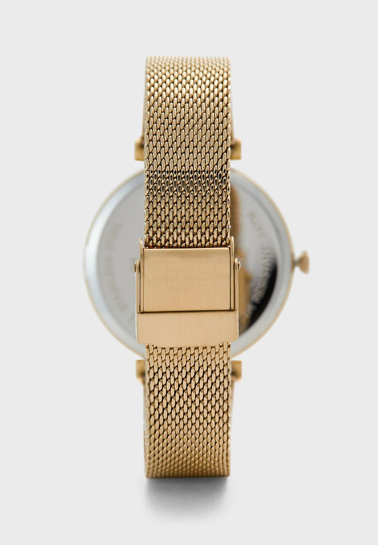 KC51007002 Mesh Strap Analog Watch