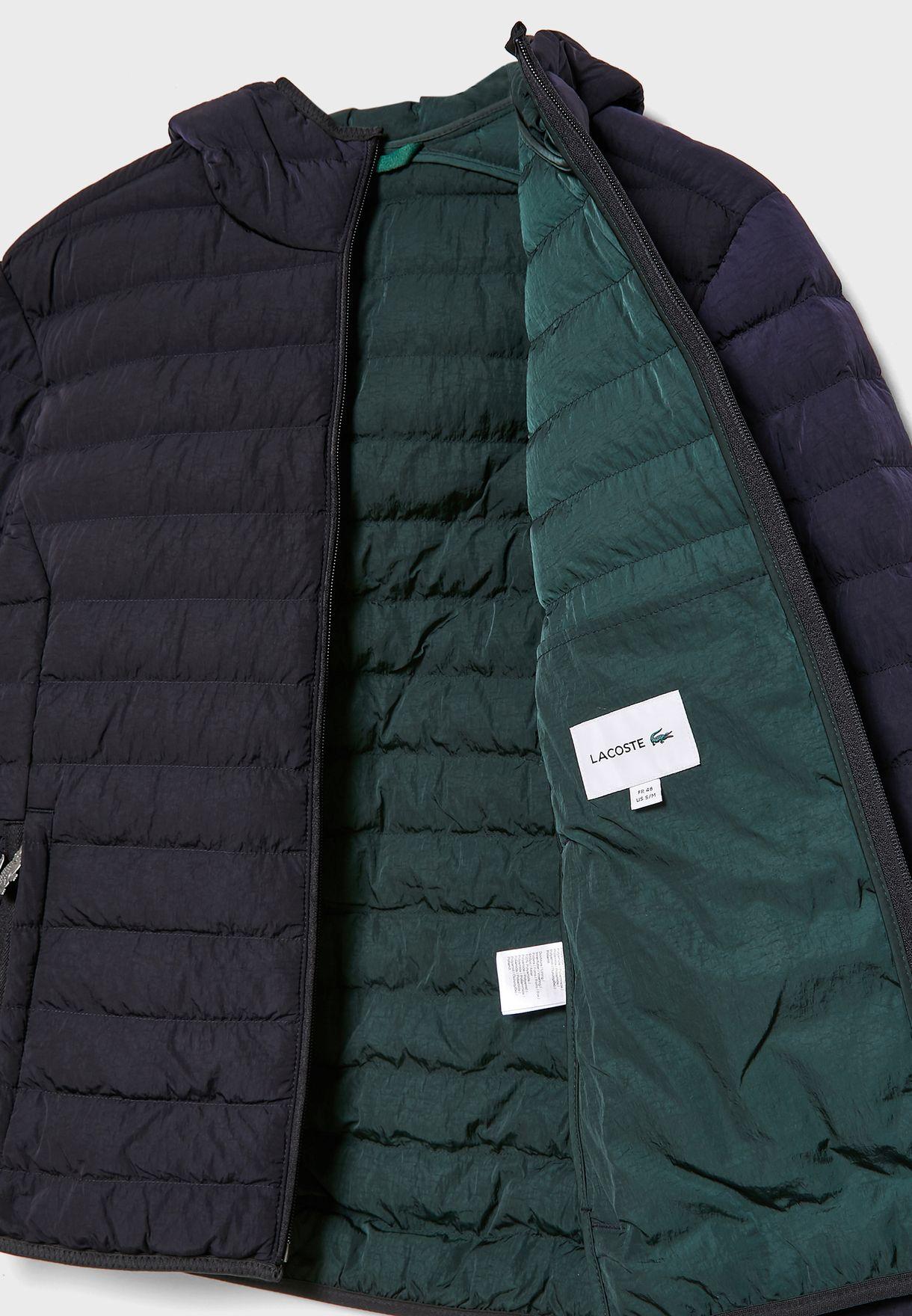 Foldable Hooded Water Resistant Jacket