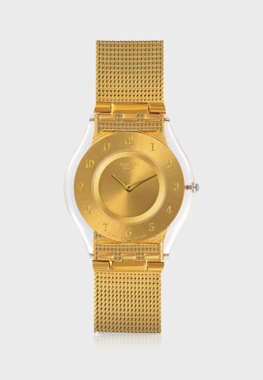 Ultra-Slim Analog Watch