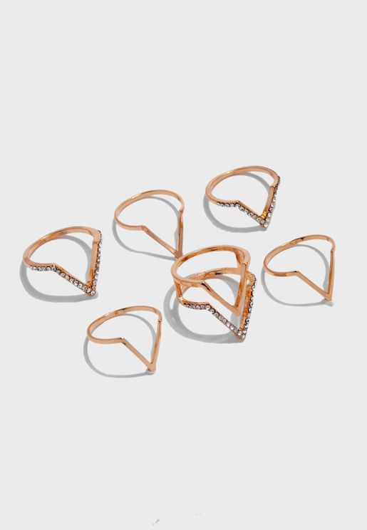 Nipa Rings Set