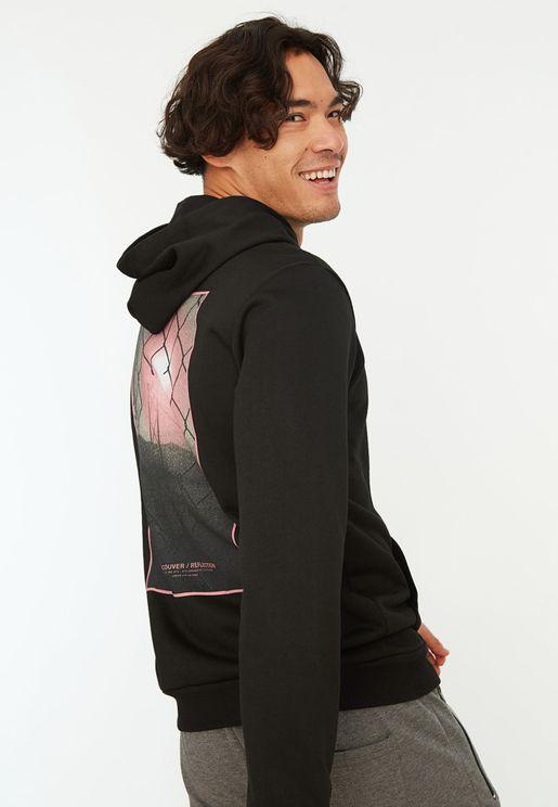 Back Print Hoodie