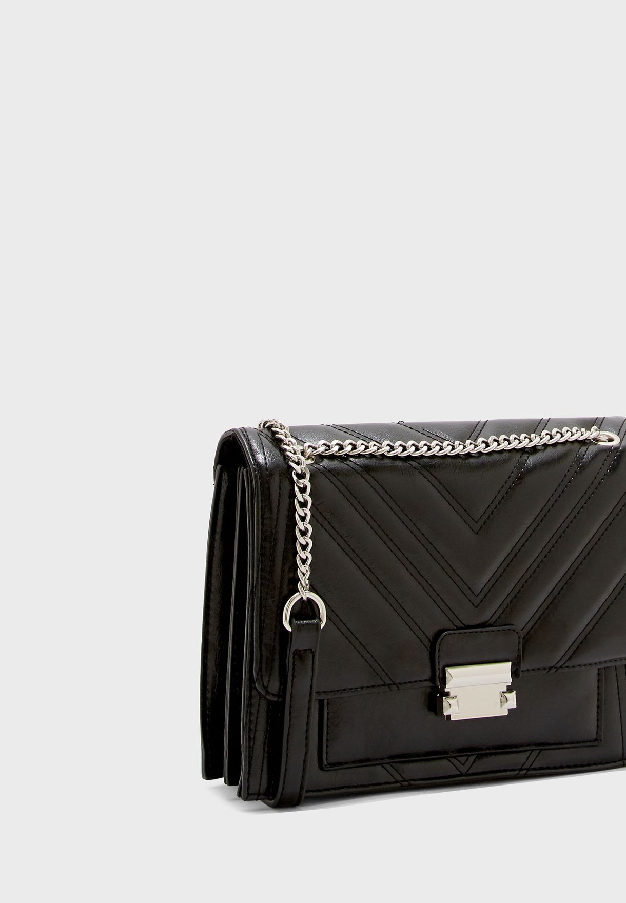 Molly Quilted Large Chain Crossbody