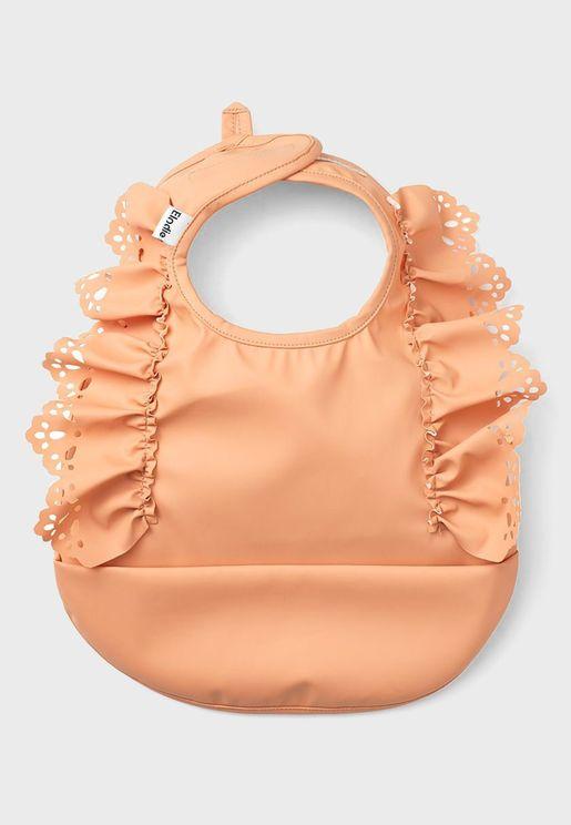 Amber Apricot  Baby Bib