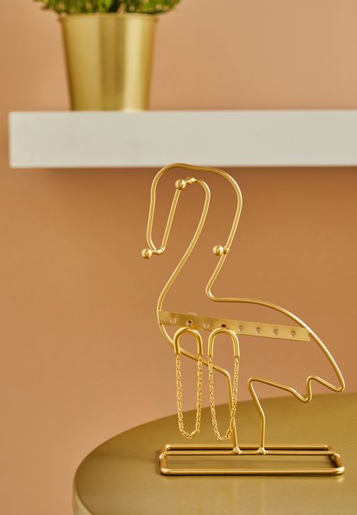 Flamingo Jewellery Stand