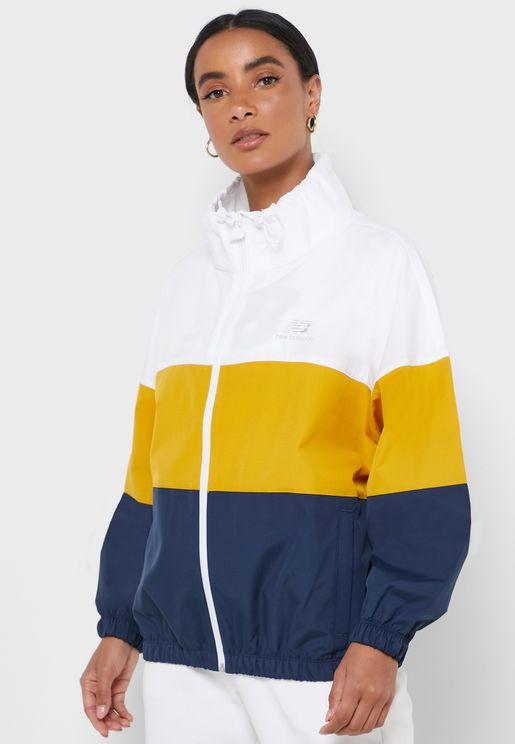 Athletics Windbreaker Jacket