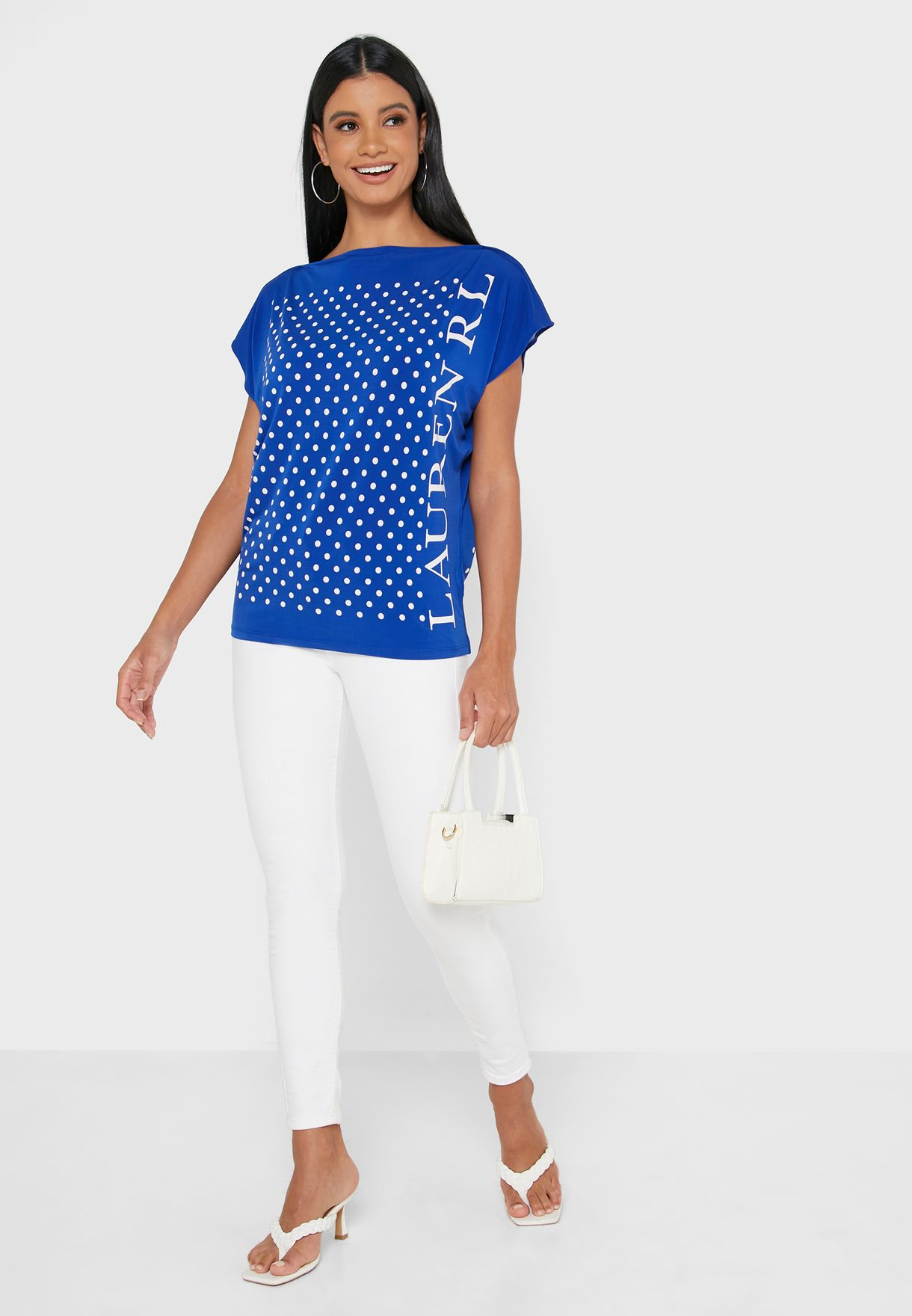 Polka Dot Knitted Top