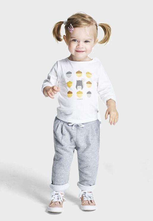 Infant Polka Dot Trousers