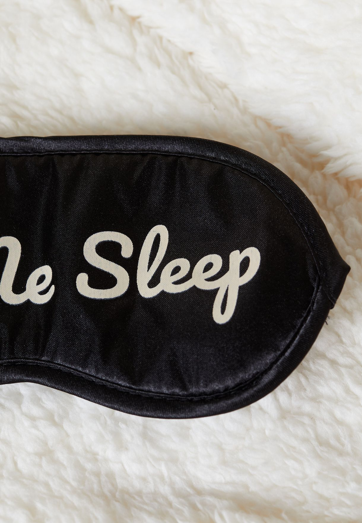 Let Me Sleep Face Mask And Sock Set