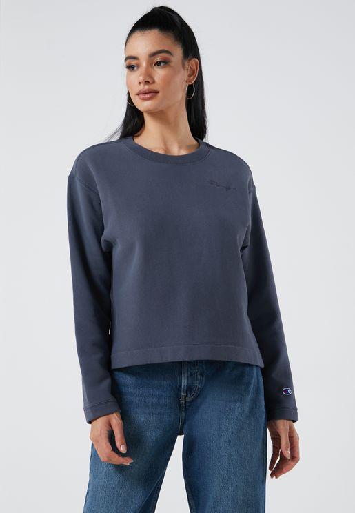 Reverse Weave Fleece Sweatshirt