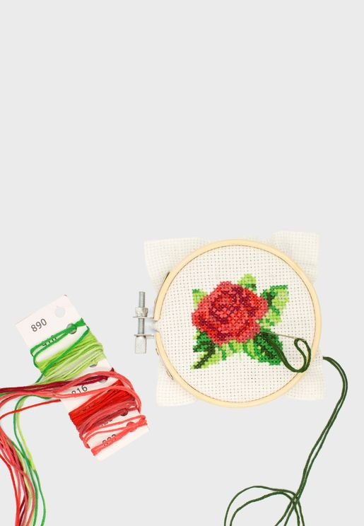 Mini Crossstitch Embroidery Kit