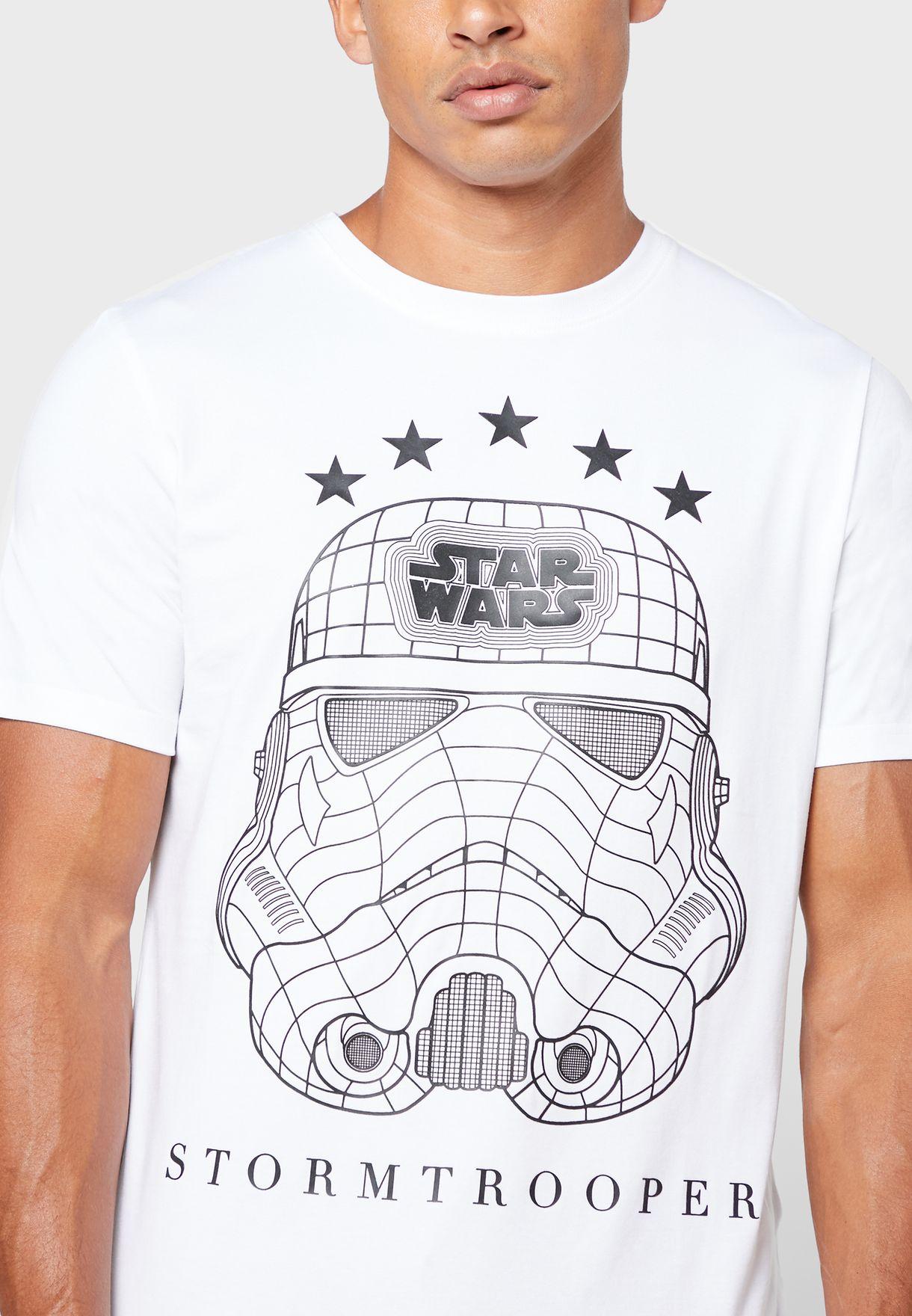 Storm Trooper Crew Neck T-Shirt