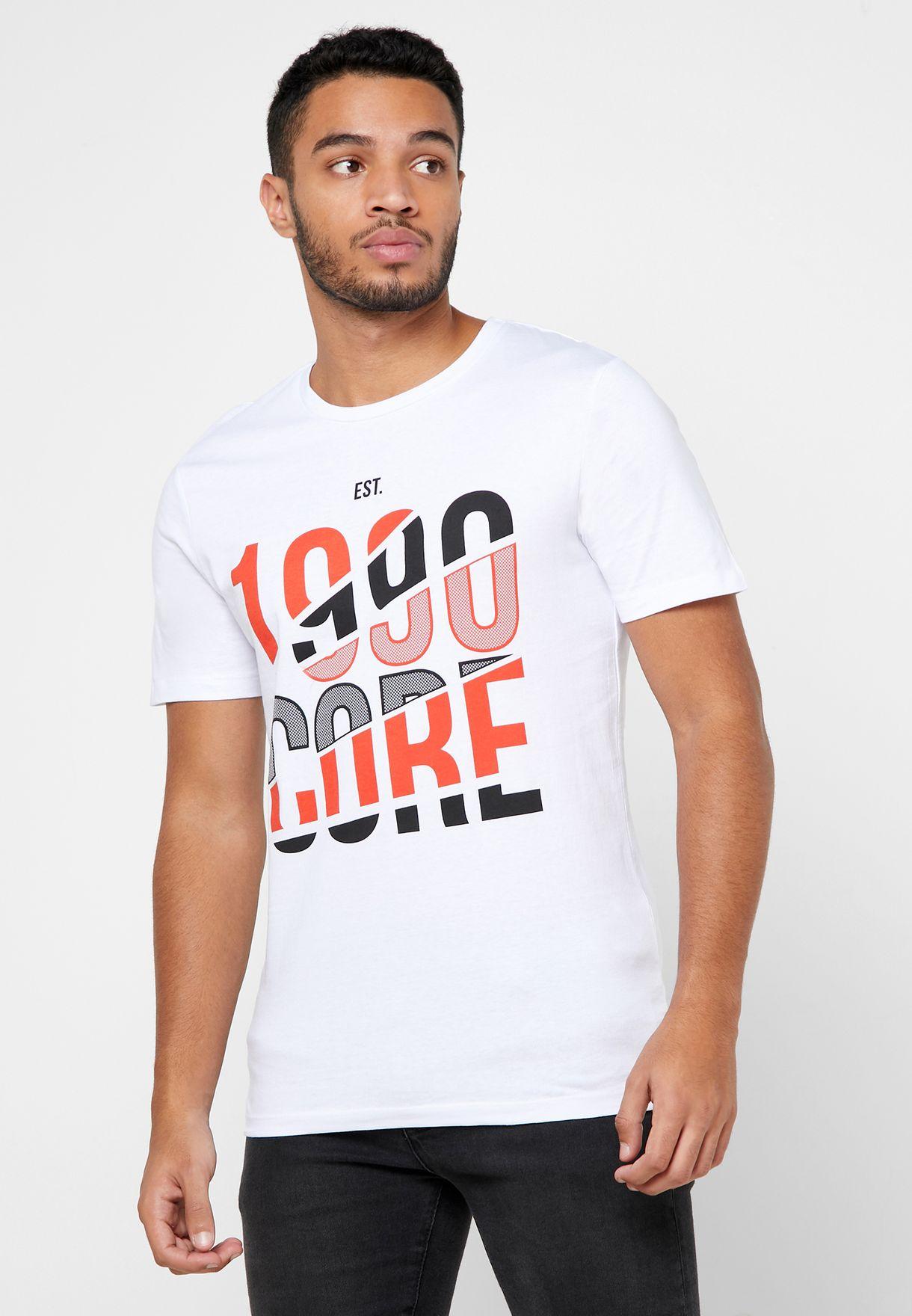 Booster Crew Neck T-Shirt