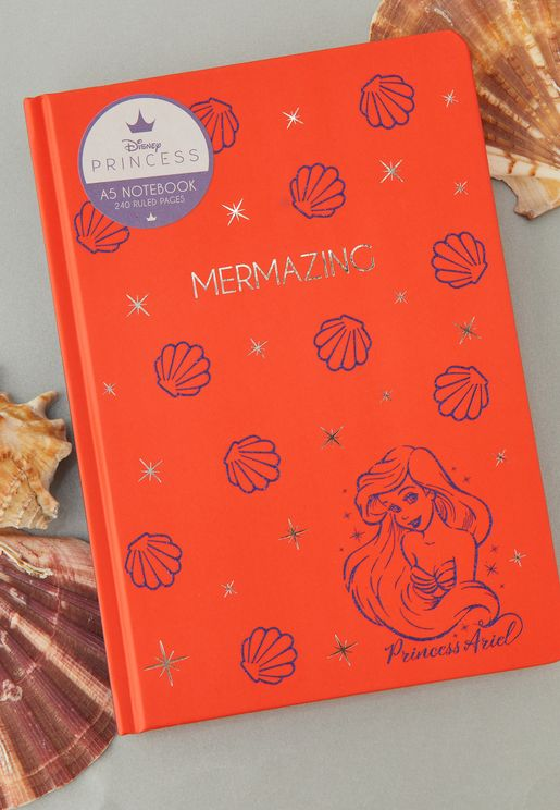 A5 Disney Princess Ariel Notebook