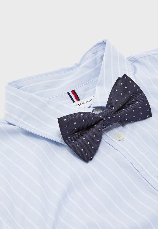 Kids Dot Print Bow Tie