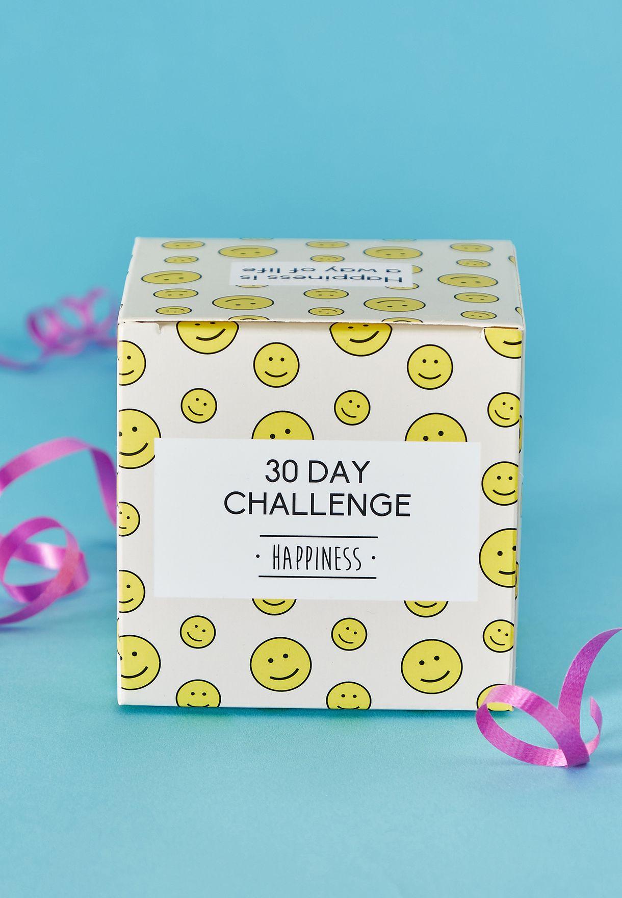 تحدي السعادة لمدة 30 يوم