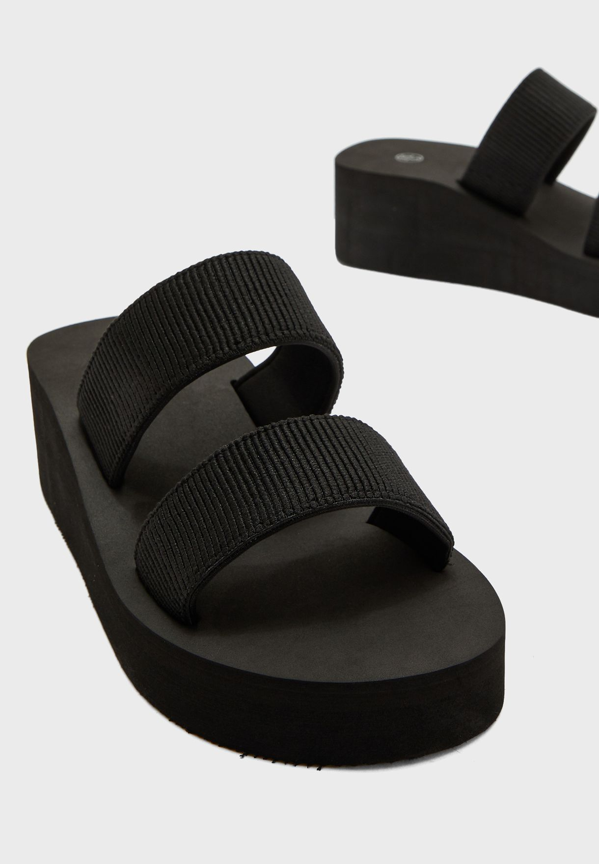 Wide Fit Wedge Sandals
