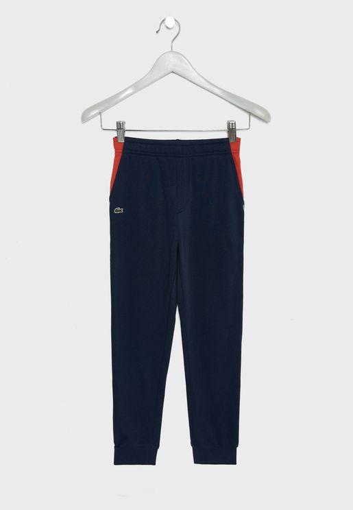 Kids Side Striped Sweatpants