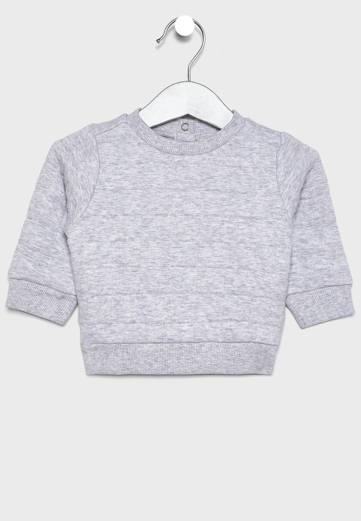 Infant Quilted Sweatshirt