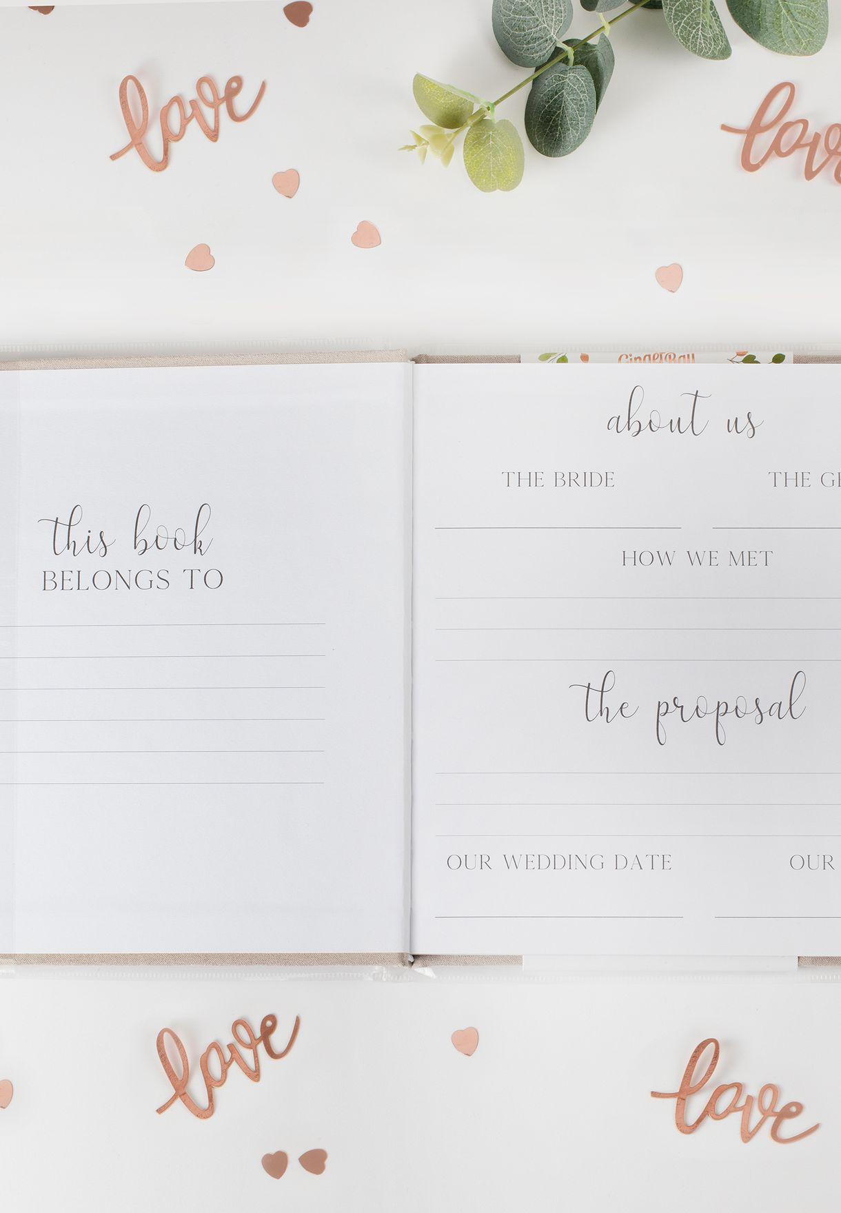 دفتر تخطيط حفلات الزفاف