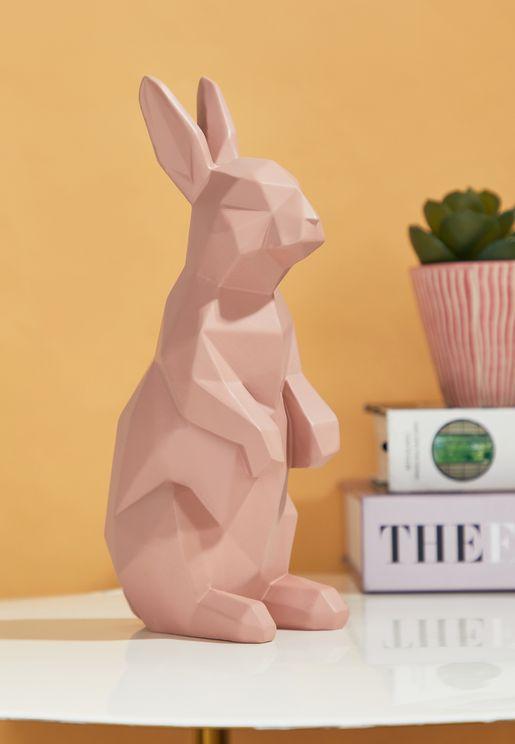 تمثال على شكل ارنب