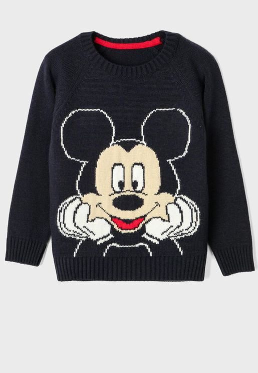 Kids Mickey Mouse Sweater
