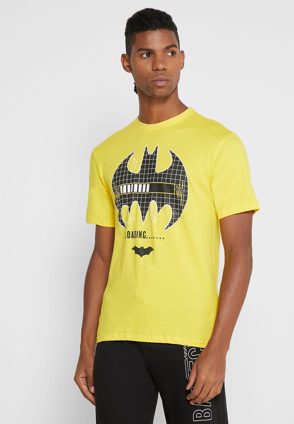 طقم بيجاما بطبعة باتمان