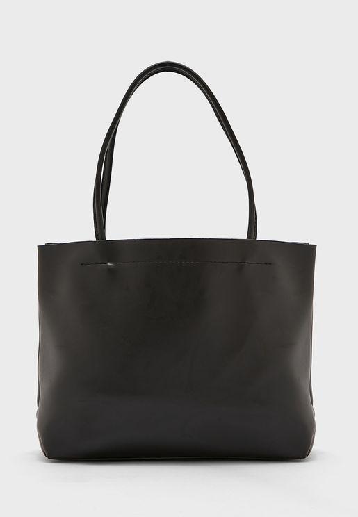 Mini Pu Tote Bag