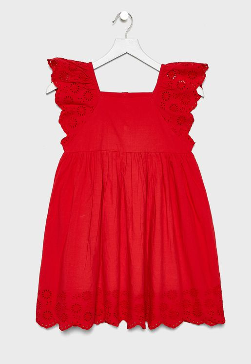 Kids Hem Ruffle Dress