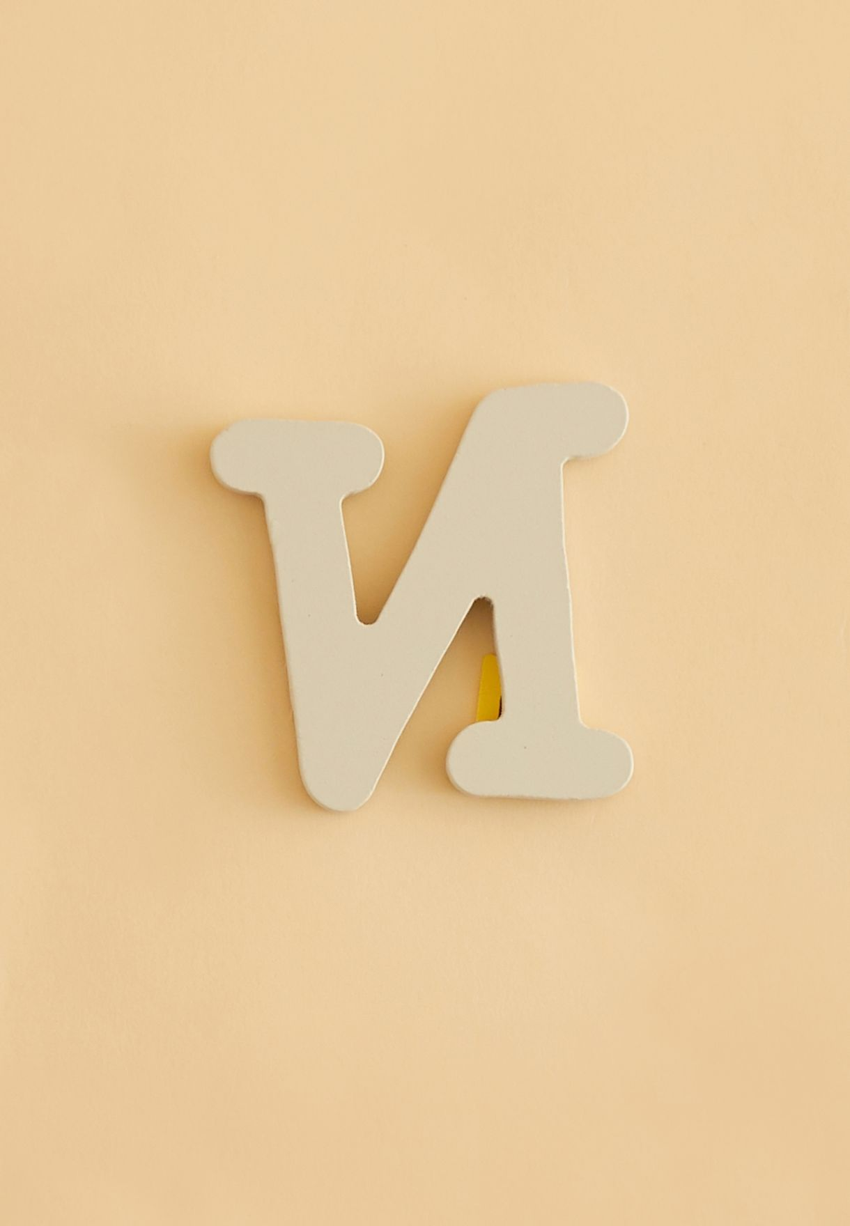Initial N Wooden Letter