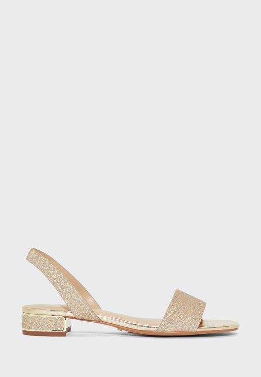 Candal Low Heel Sandal