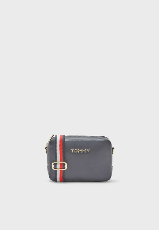 Iconic Tommy Solid Crossbody