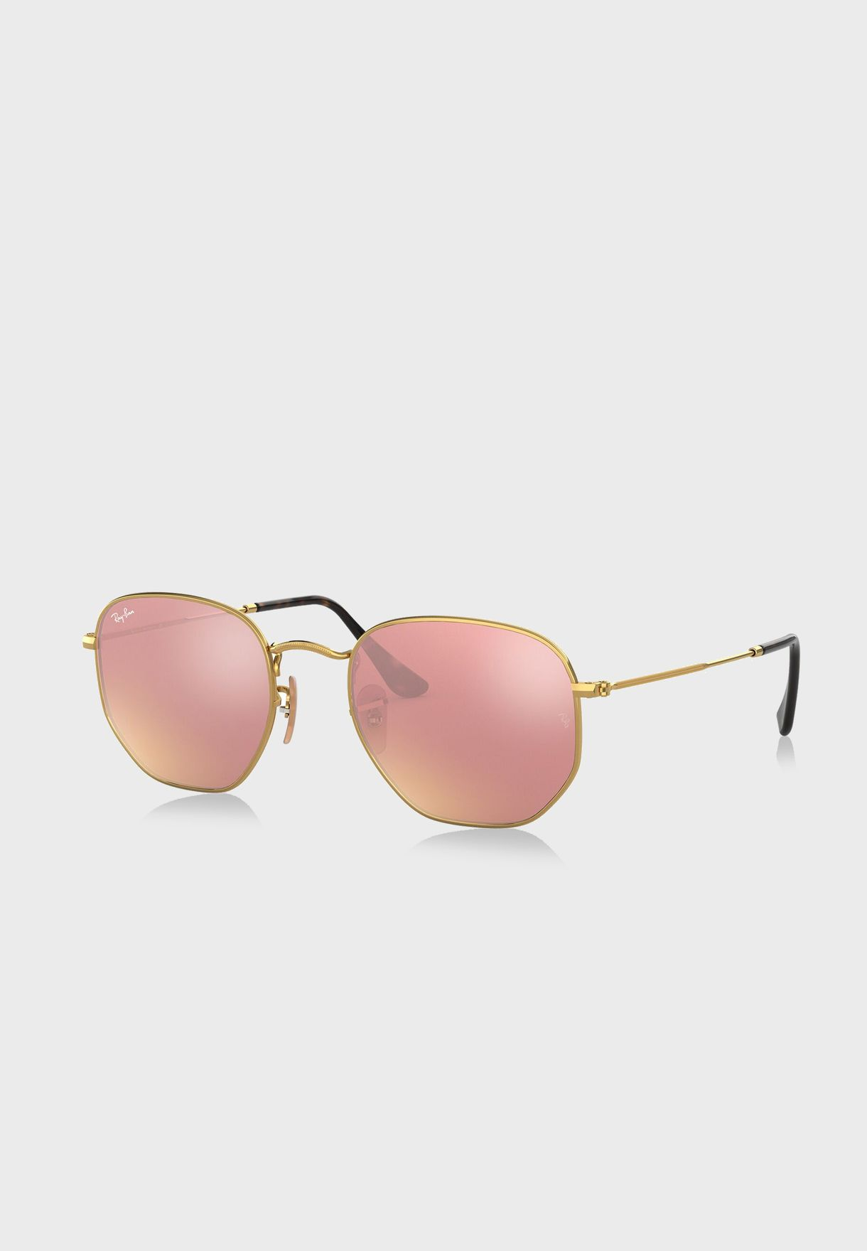 0RB3548N Hexagonal Sunglasses