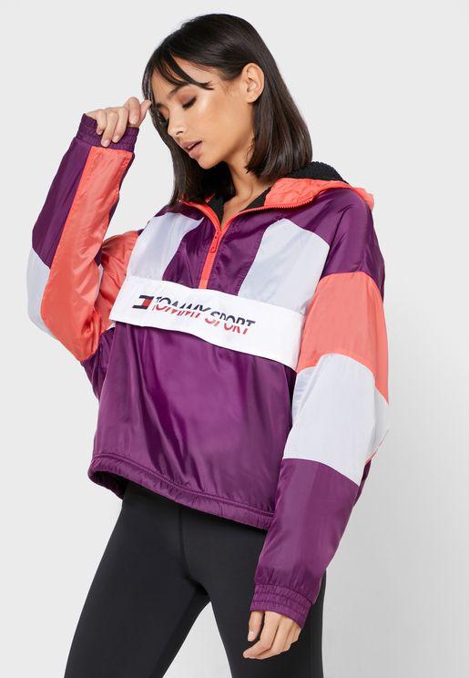 Sherpa Lined Blocked Jacket