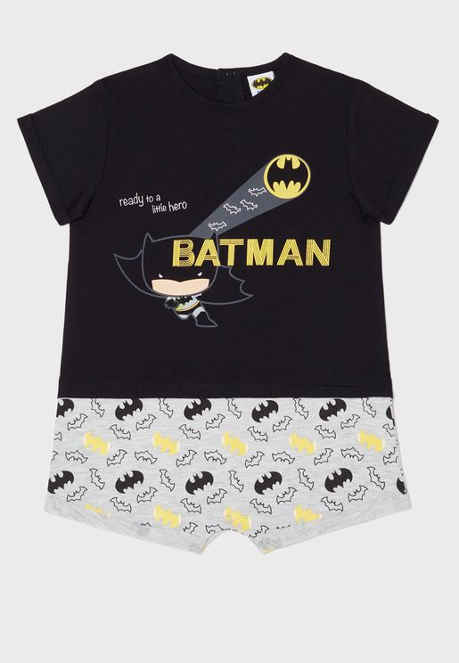 Infant Batman Logo Pyjama Set