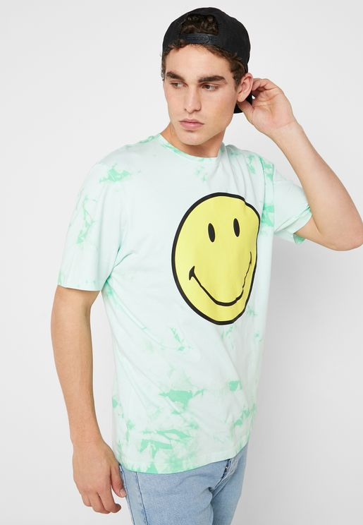 Smiles Crew Neck T- Shirt