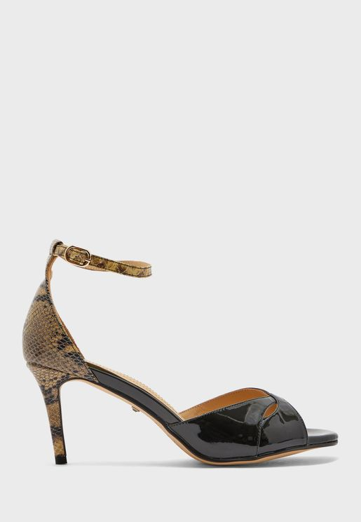 Chintz High Heel Sandal