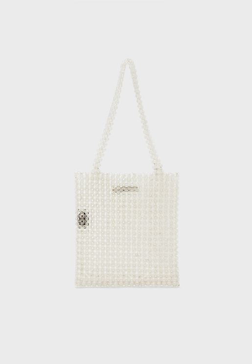 Jearl Beaded Shopper