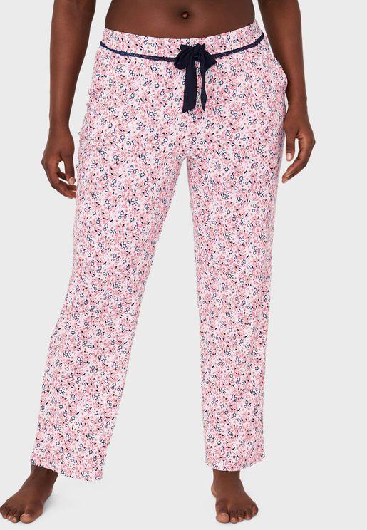 Butterfly Print Pyjama Pant