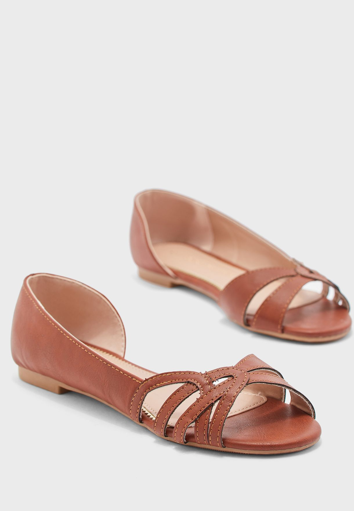 Patrice D'Orsay Flat Sandal