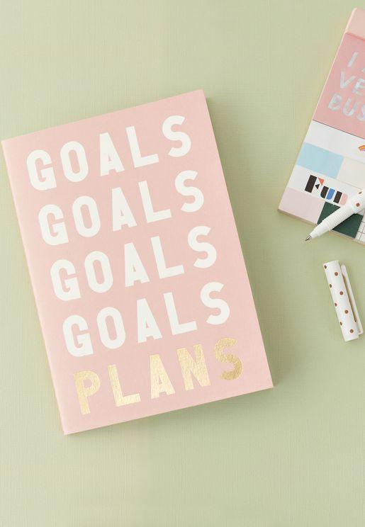 Small Camio Goals Notebook