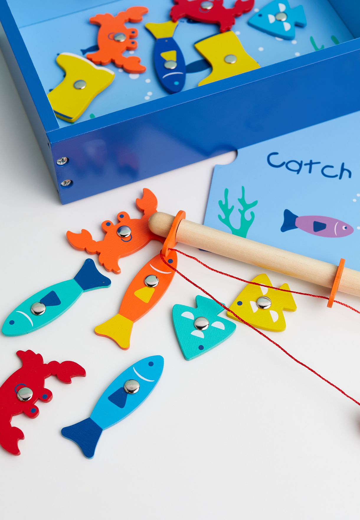 Catch Of The Day Fishing Toy Set