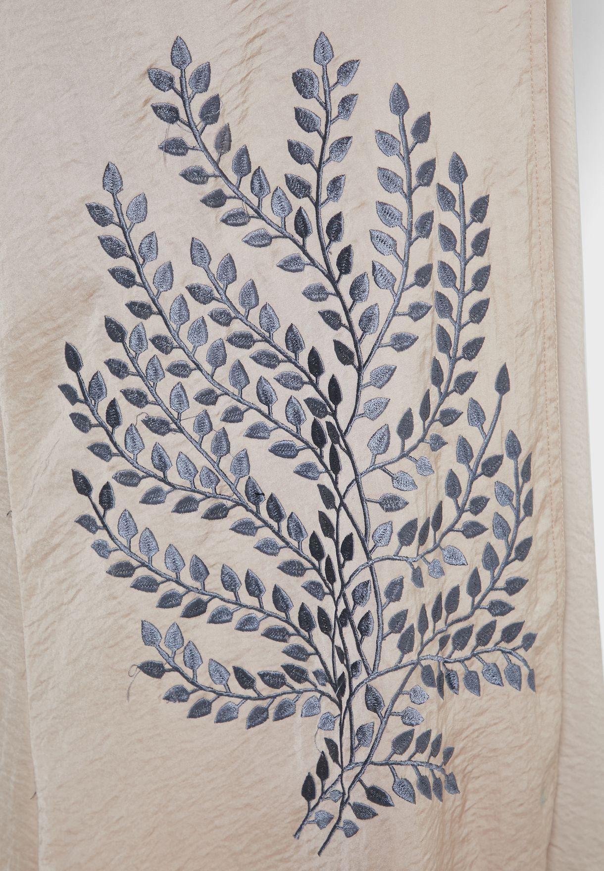 Embroidered Abaya