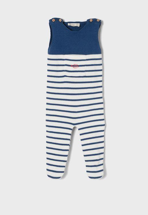 Infant Striped Onesie