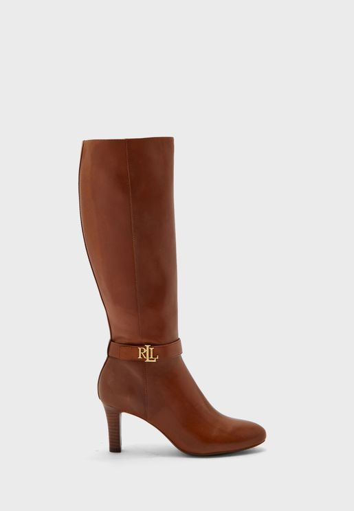Ardington High Heel Knee Boot