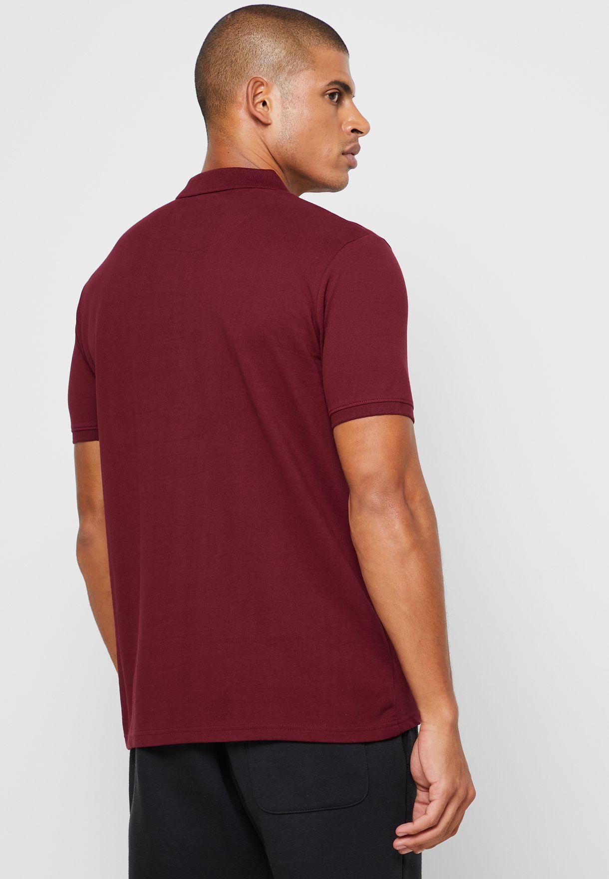 Zip Arm Polo Shirt