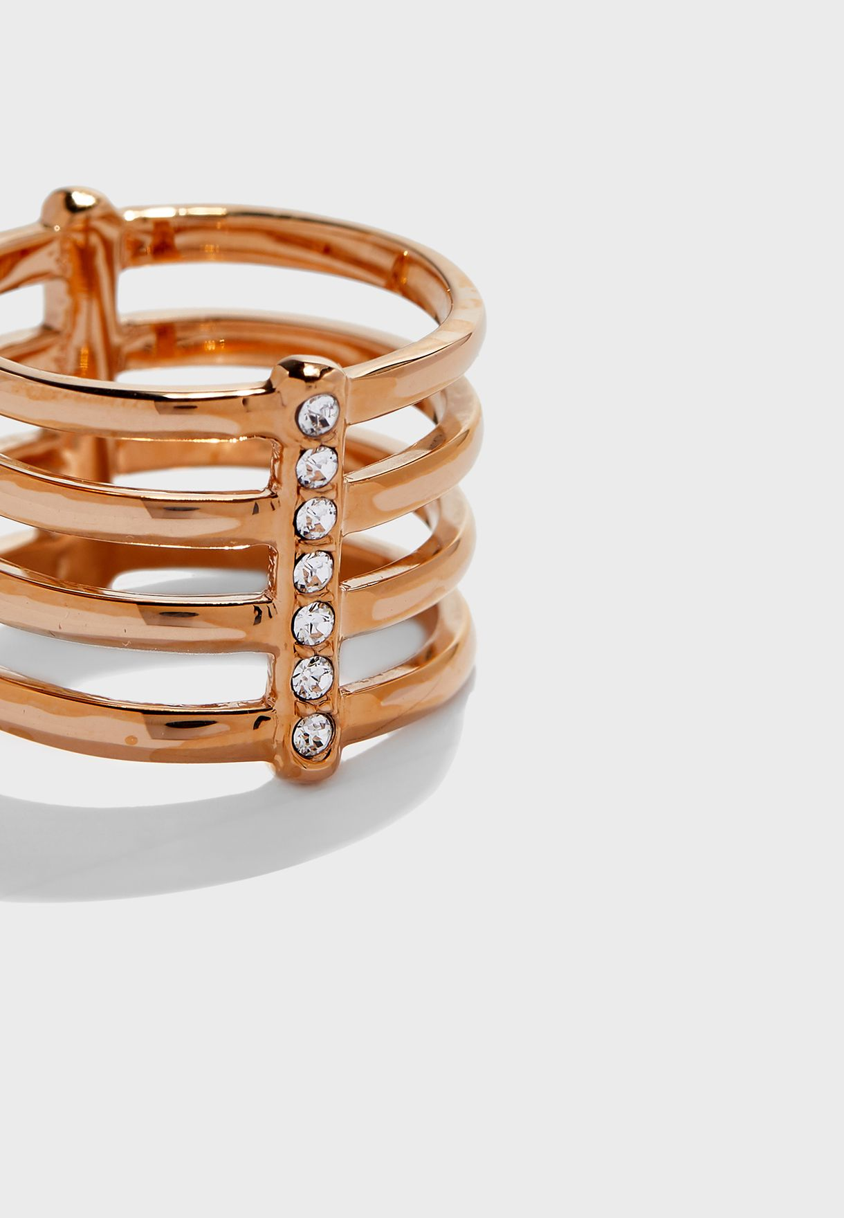 Studded Stack Ring