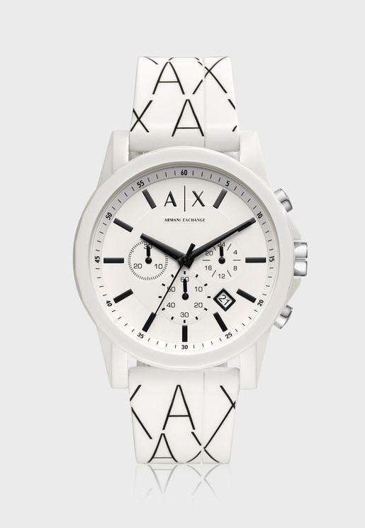 AX1340 Chronograph Silicone Watch