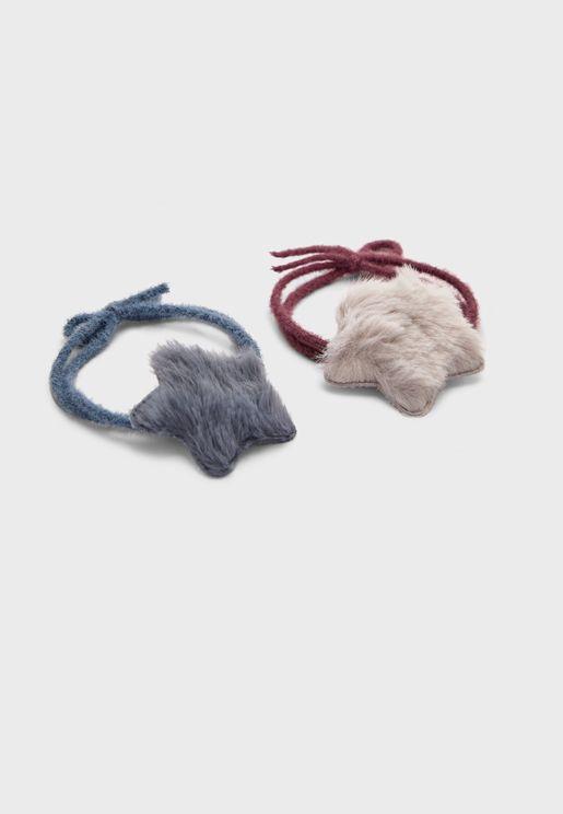 Kids Multipack Smooth Hair Tie
