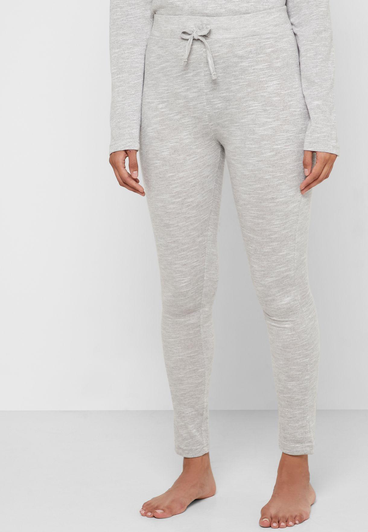Textured T-Shirt & Pyjama Set