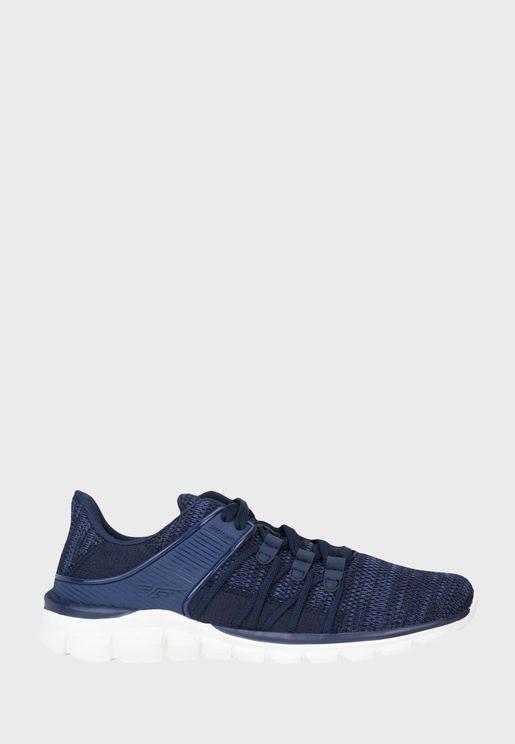 Textured Low Top Sneaker